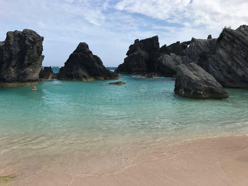 После полудня Бермудских Островов успокоенное стоковые фото