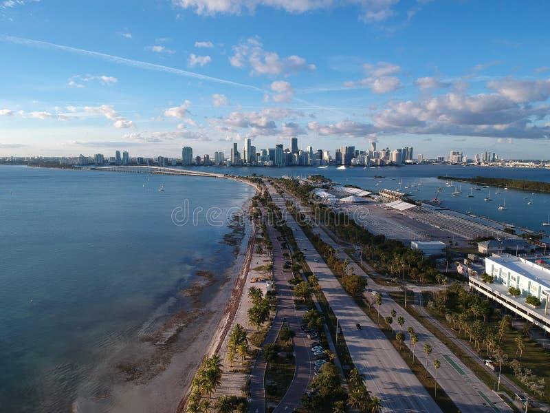 После полудня Майами стоковое фото