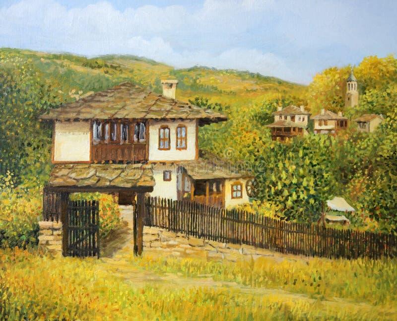 После полудня осени в Bojenci иллюстрация штока