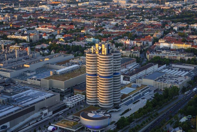 Посмотрите Мюнхен и штабы BMW стоковое фото