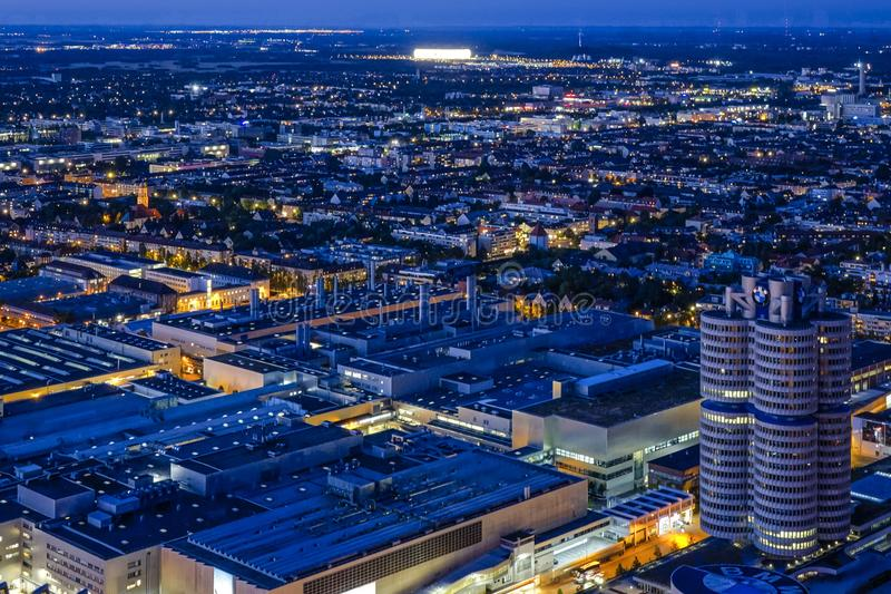 Посмотрите Мюнхен и штабы BMW стоковые фото