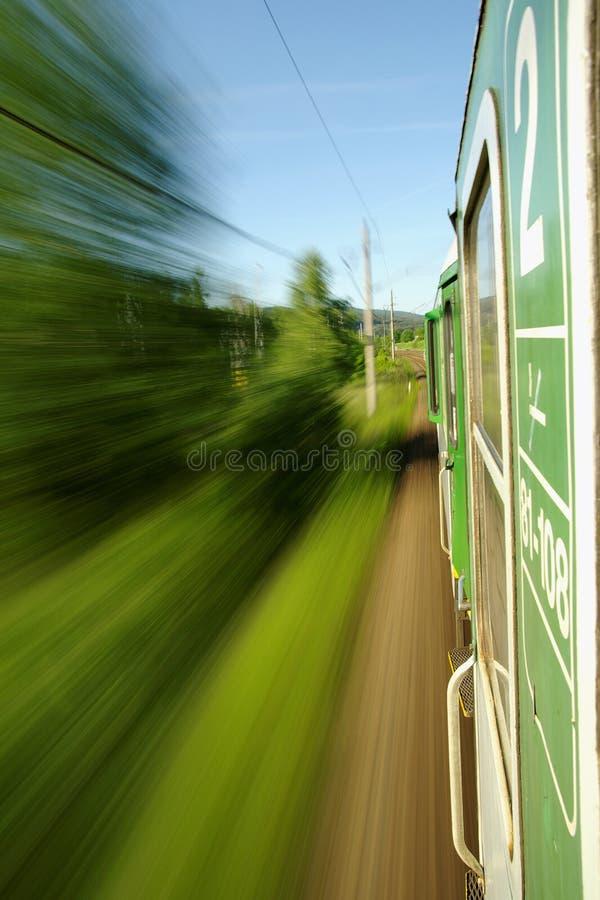 посмотрите поезд riding стоковые фото