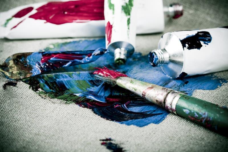 посмотрите сбор винограда пробок краски стоковые изображения