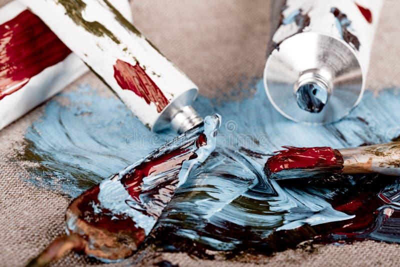 посмотрите сбор винограда пробок краски стоковое изображение rf