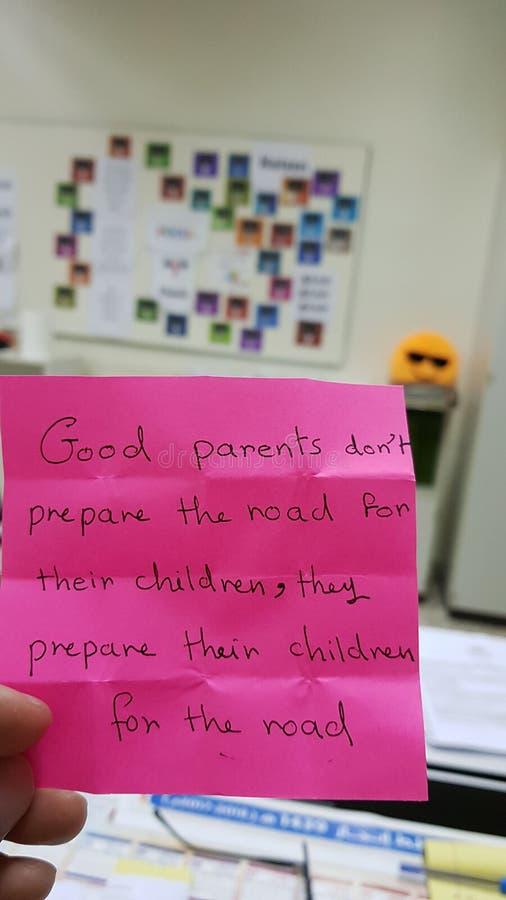 Посоветуйте widom родителей розовому стоковая фотография rf