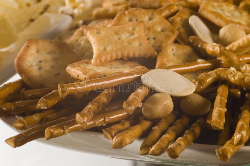 посоленное печенье стоковые фотографии rf