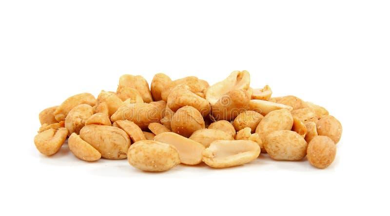 посоленные арахисы стоковые изображения