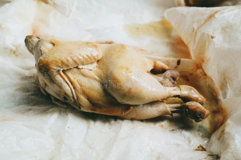 Посоленный цыпленок в Ipoh, Малайзии стоковые изображения rf
