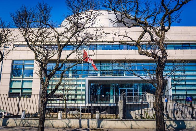 Посольство Канады стоковая фотография