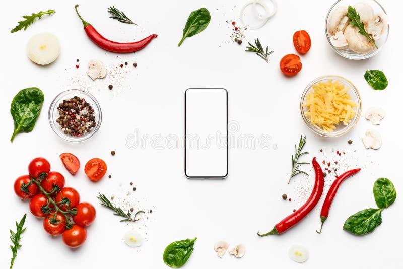 Поставка еды E стоковые изображения rf