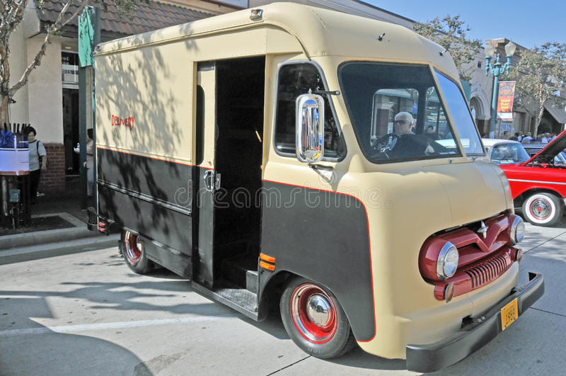 Поставка Van Форда стоковое изображение rf