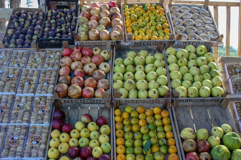Поставщик плода обочины стоковая фотография rf