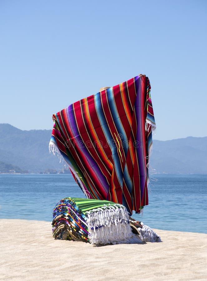 Поставщик Puerto Vallarta Мексика одеяла стоковое фото rf