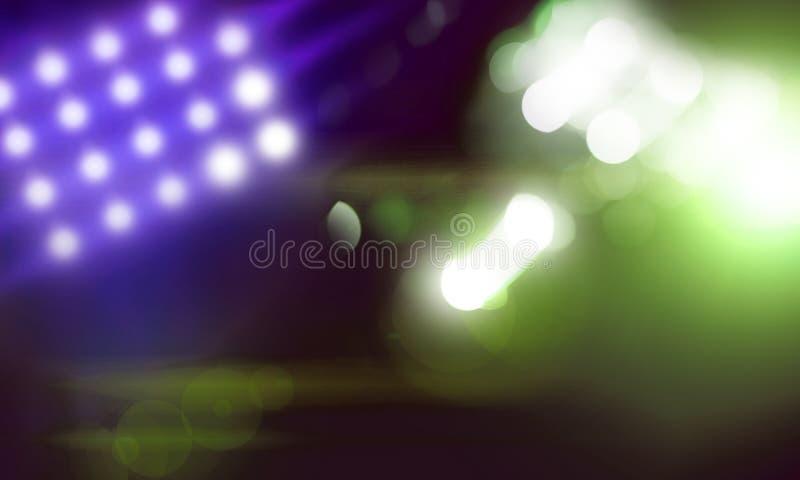 Поставьте света стоковые изображения rf