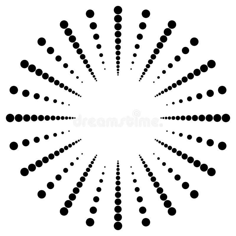 Download Поставленное точки радиальное, излучающ линии Циркуляр ставит точки мотив Абстрактный Bl Иллюстрация вектора - иллюстрации насчитывающей минимально, dotted: 81809786