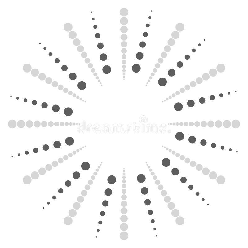 Download Поставленное точки радиальное, излучающ линии Циркуляр ставит точки мотив Абстрактный Bl Иллюстрация вектора - иллюстрации насчитывающей центрально, минимально: 81809988
