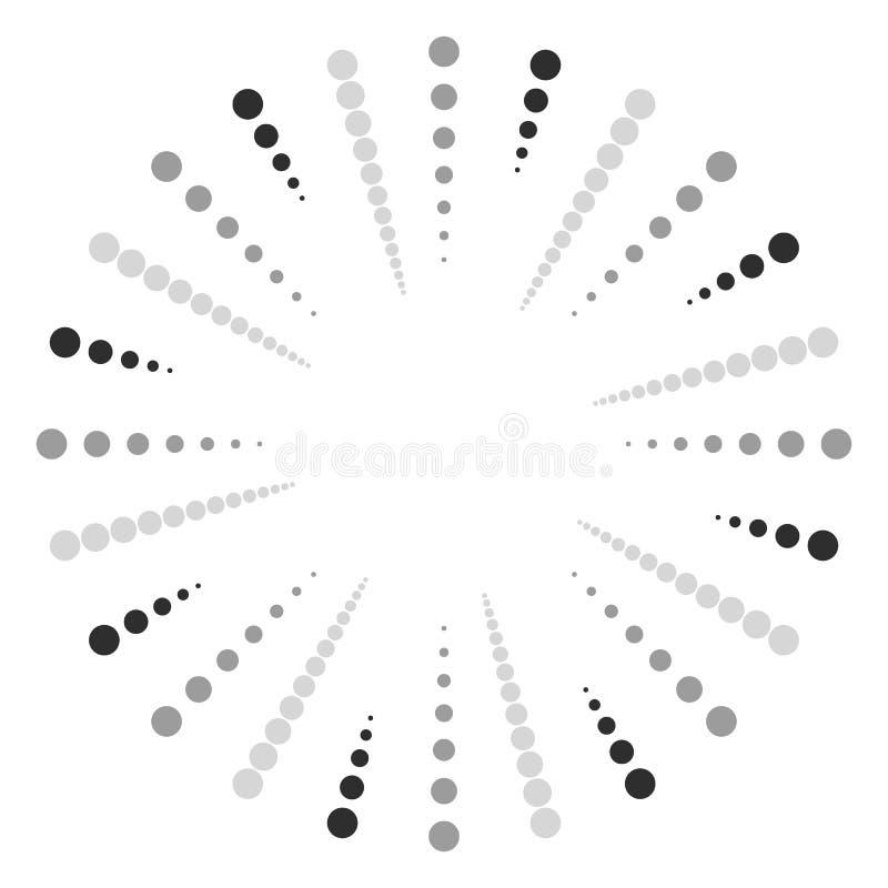 Download Поставленное точки радиальное, излучающ линии Циркуляр ставит точки мотив Абстрактный Bl Иллюстрация вектора - иллюстрации насчитывающей иллюстрация, центр: 81810006