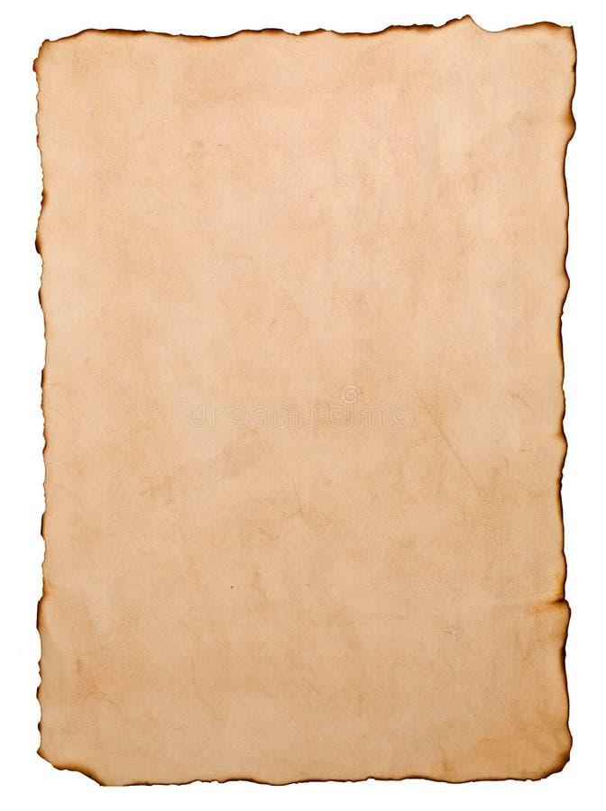 постаретая бумага иллюстрация вектора