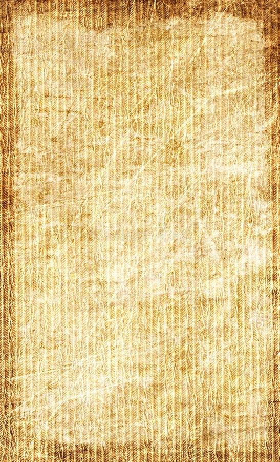 постаретая бумажная текстура стоковая фотография rf
