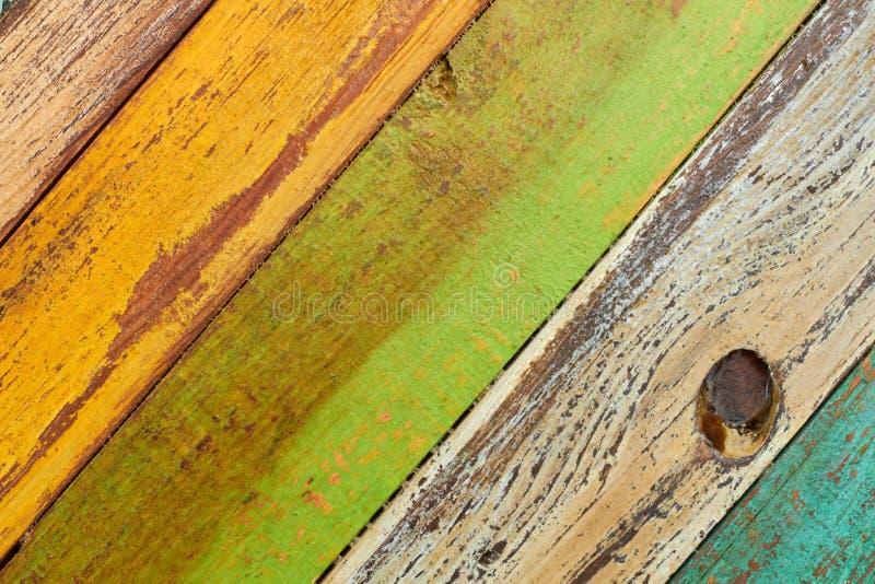 Постаретая деревянная предпосылка планок стоковое фото
