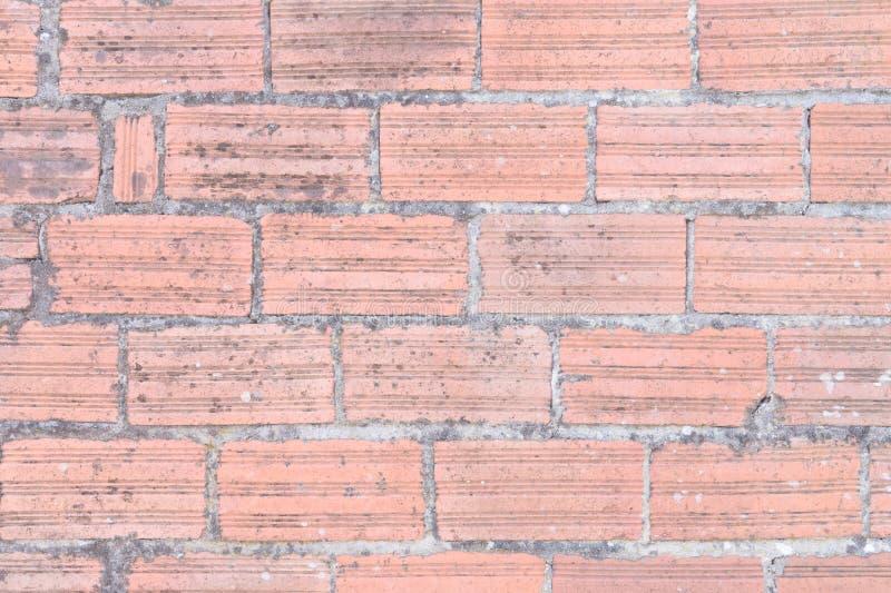 Постаретая предпосылка кирпичной стены стоковые изображения rf