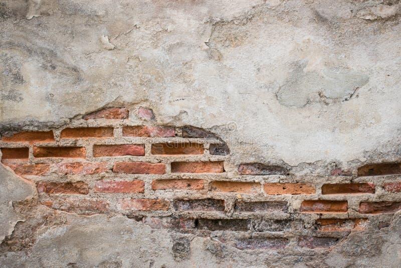 Постаретая предпосылка стены улицы, старая предпосылка текстуры красного кирпича стоковые фото