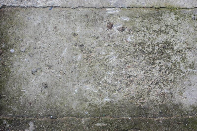 Постаретая старой красной белой серой предпосылка кирпичной стены разрушенная текстурой конкретная горизонтальная Затрапезное гор стоковое фото rf
