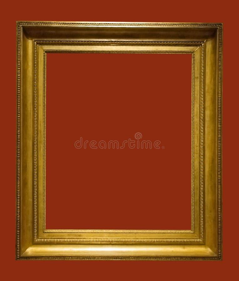 постаретое изображение фото рамки золотистое стоковые фото