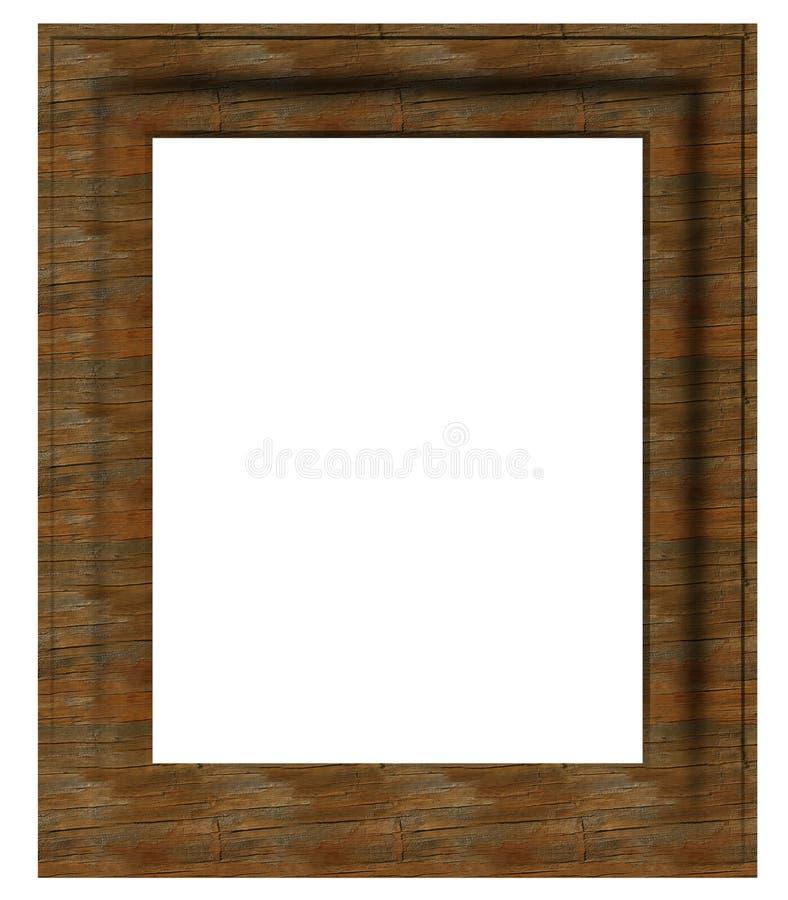 постаретое пустое изображение рамки стоковое фото rf