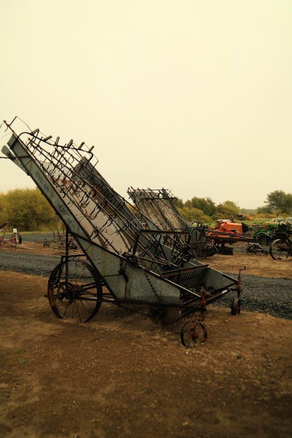Постаретое сельскохозяйственное оборудование стоковые фотографии rf