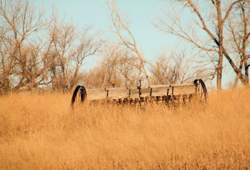 Постаретое сельскохозяйственное оборудование стоковое фото