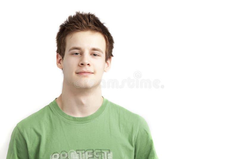 постаретый мальчик предназначенный для подростков стоковое изображение