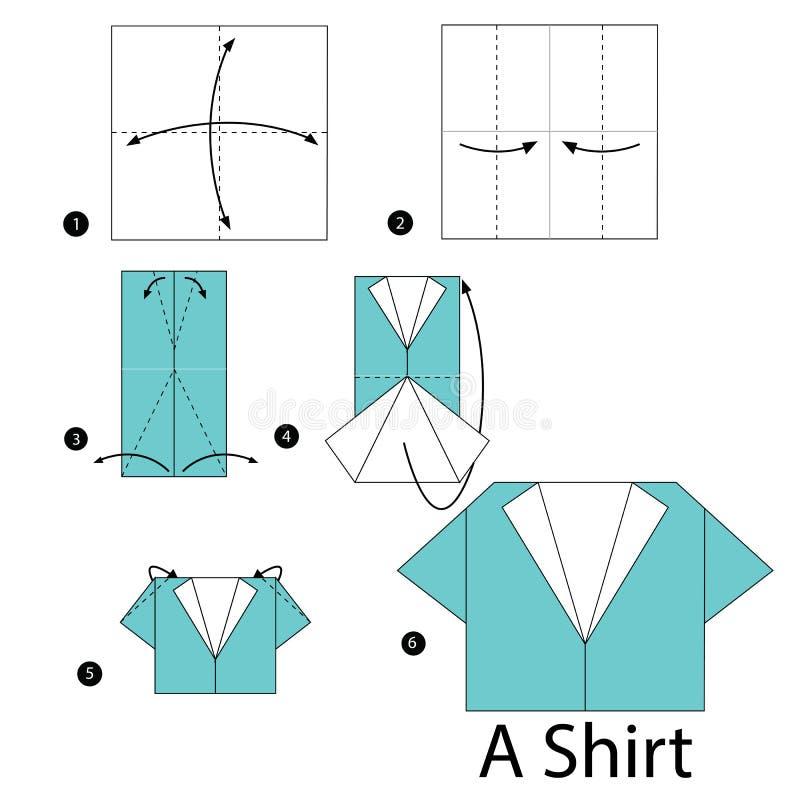 Открытки оригами рубашки