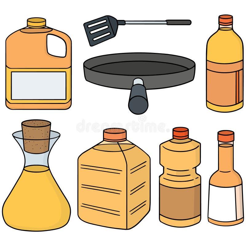 Постное масло иллюстрация штока