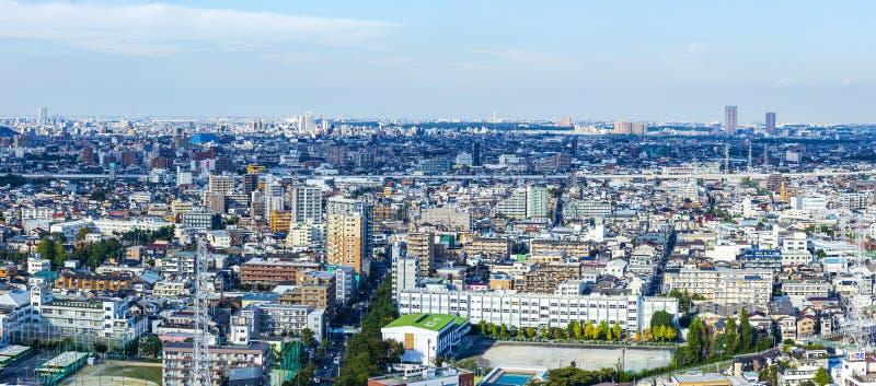 Построение города, дома, офиса и квартиры Токио стоковые изображения