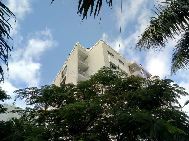 Построение отделов Asunción стоковое фото