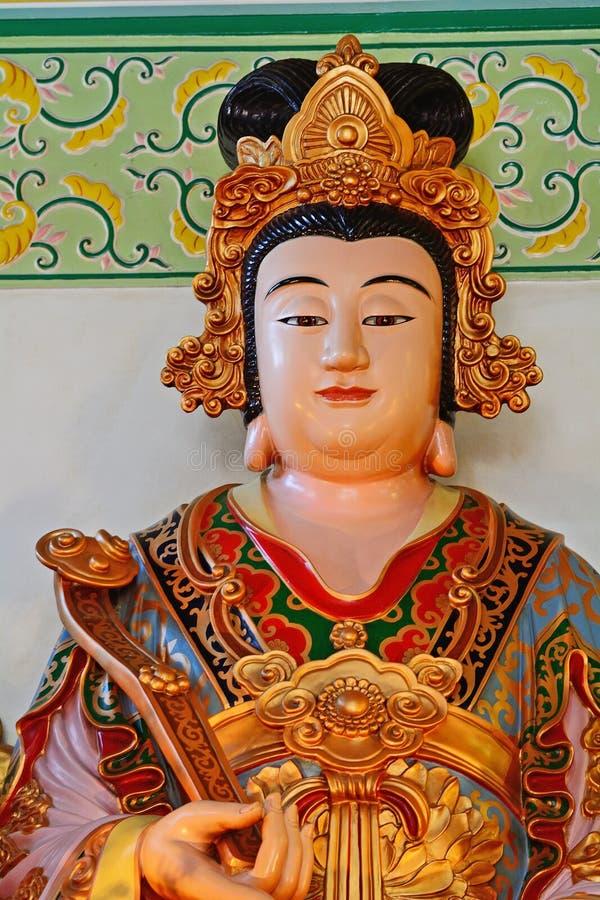построенная китайская община предназначила наземного ориентира kuala hou богини расположенный ярусами виска мати 6 lumpur Малайзи стоковое изображение