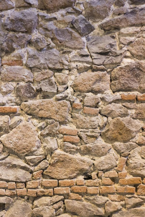 Построенная Masonry текстура предпосылки каменной стены стоковые изображения