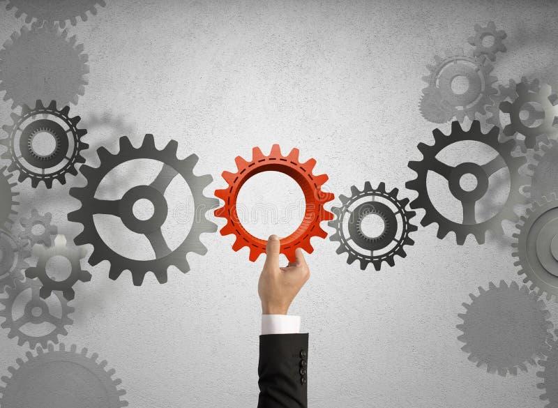 Построьте бизнес-систему стоковое фото