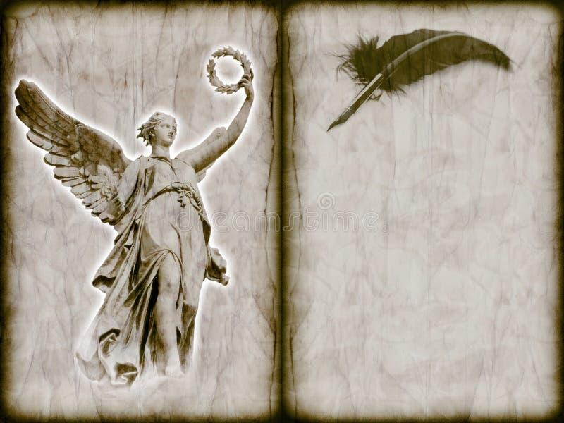 посыльный ангела божественный стоковые фото