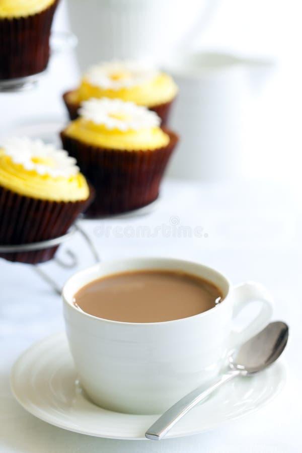 Послеполуденный чай или кофе стоковое изображение
