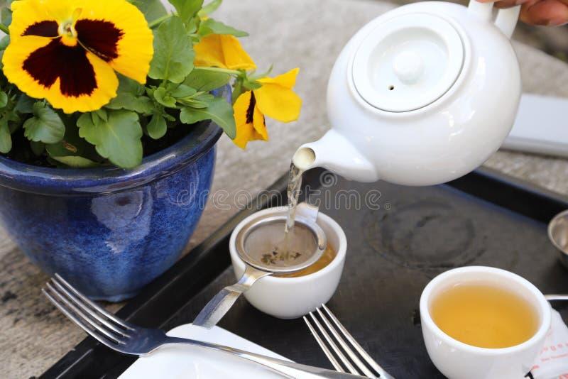 Послеполуденный чай стоковые изображения rf