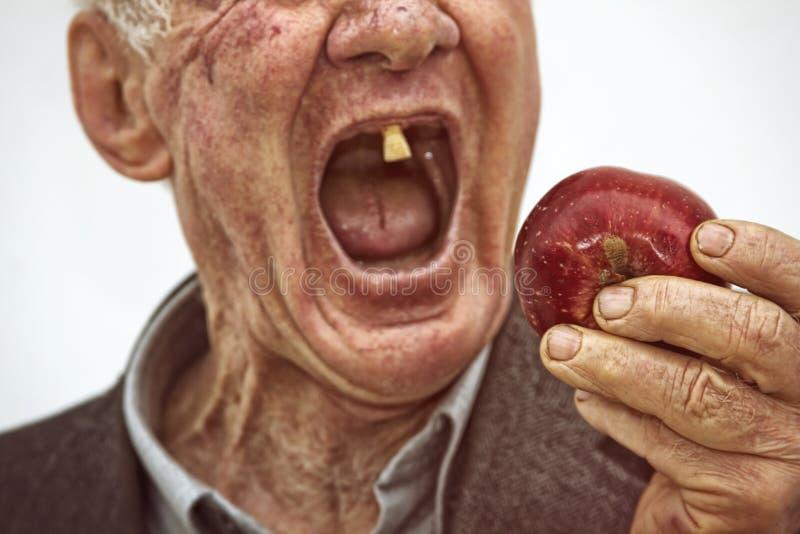 Последние зубы стоковое изображение
