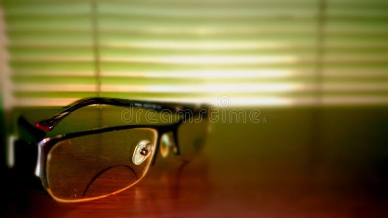 После полудня Eyeglass стоковые фотографии rf