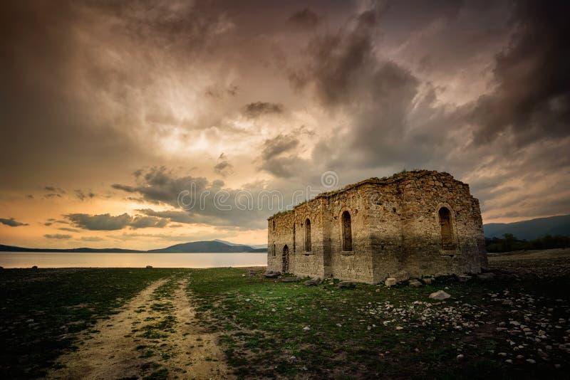 Потерянная церковь стоковая фотография rf