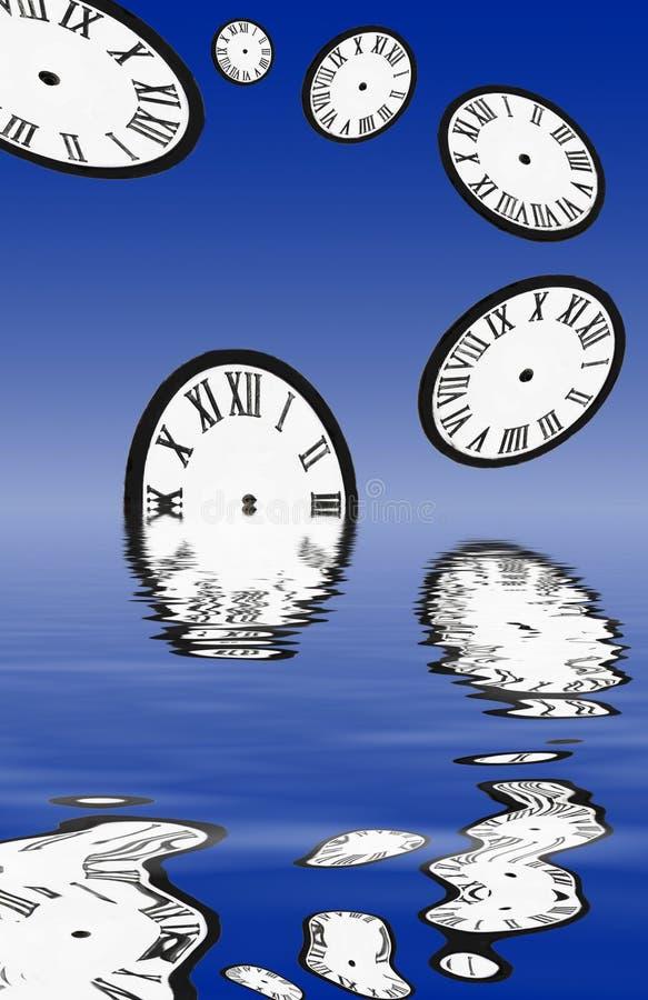 потерянное время иллюстрация вектора