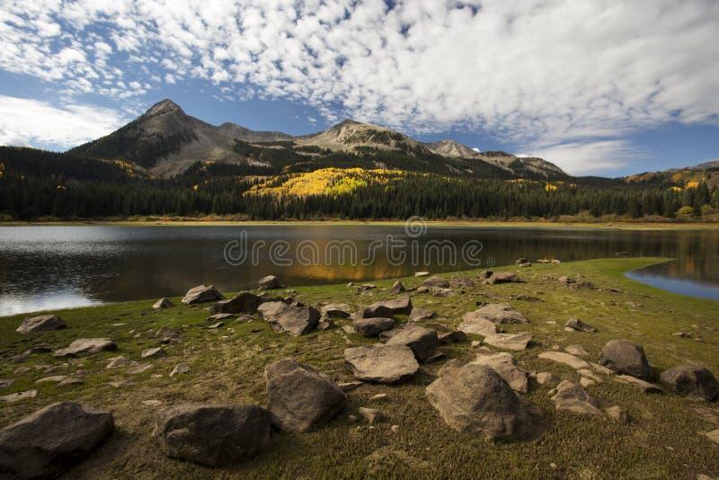 Потерянное озеро Autum стоковая фотография rf