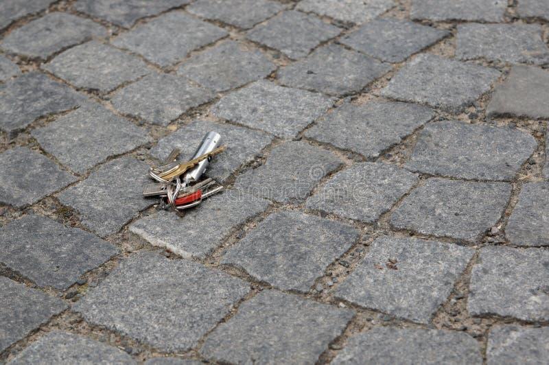 Потерянные ключи стоковые фото