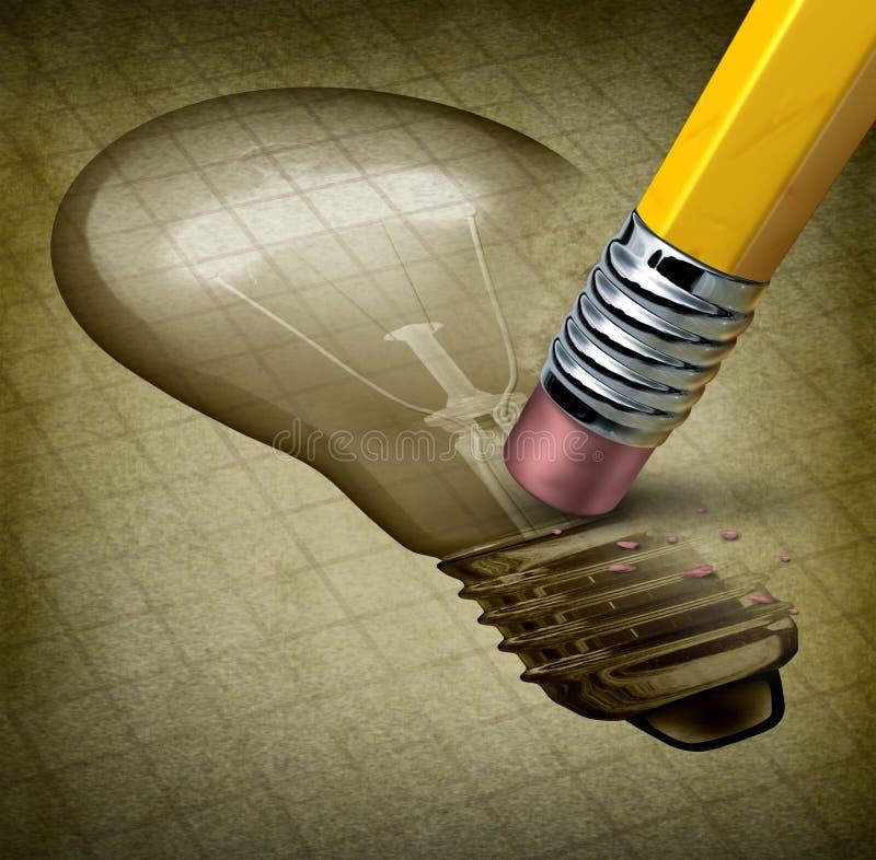 Потерянные творческие способности иллюстрация штока
