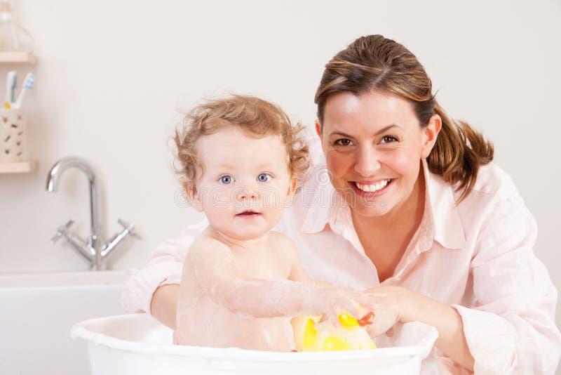 Потеха времени ванны стоковые фотографии rf